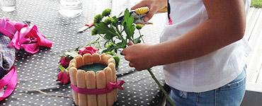 visuel prestation Atelier floral